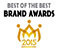 Best Brand Awards 로고